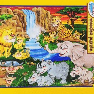 63 pc puzzle big five