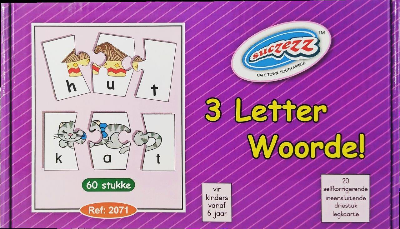 3 letter woorde