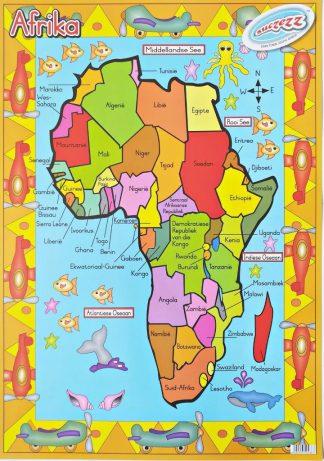 Afrika plakkaat