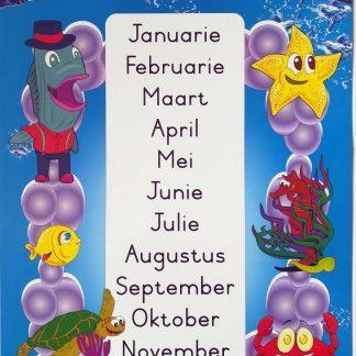 maande van die jaar plakkaat