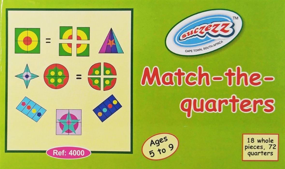 match the quarters
