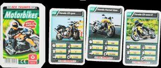 Motorbikes trump cards