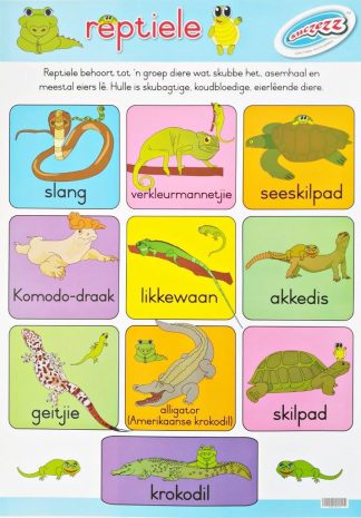 reptiele afrikaans poster
