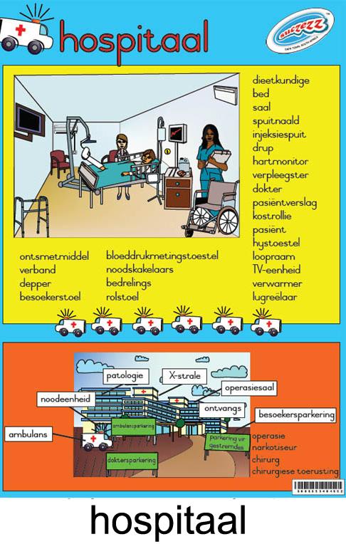 Hospitaal plakkaat