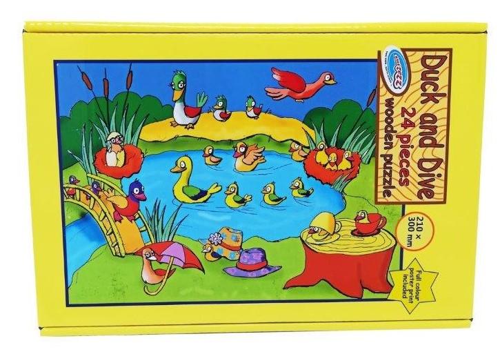 24 pc duck puzzle