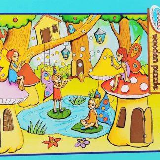 forest fairies 63 pc puzzle