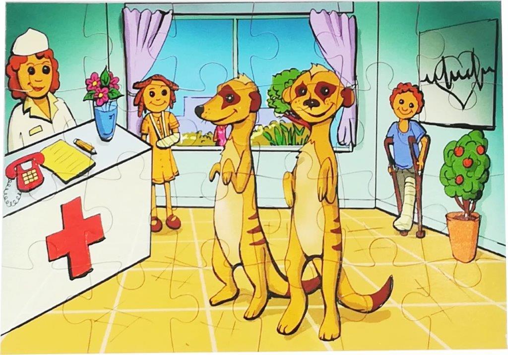 24 pc meerkat puzzle