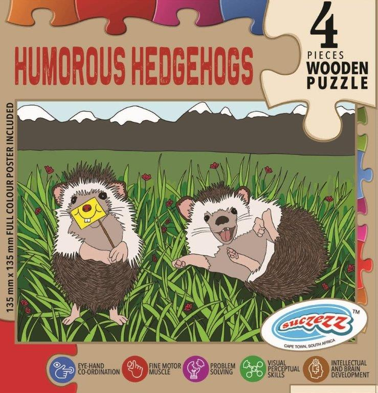 4 pc hedgehogs