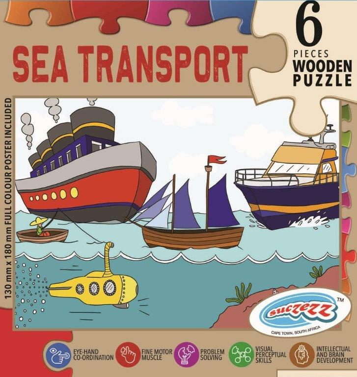 6 pc sea transport