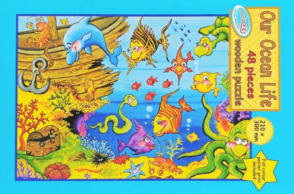 48 pc ocean puzzle