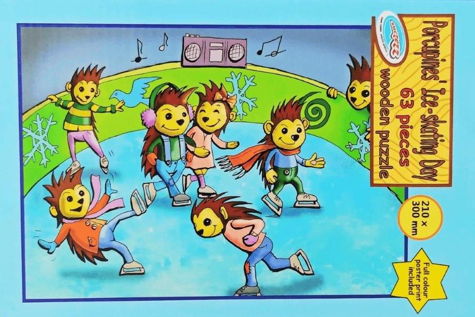 porcupines 63 pc puzzle