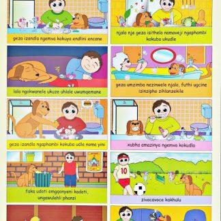 good hygiene zulu poster