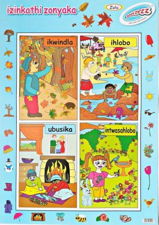 seasons zulu poster