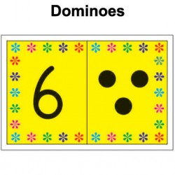 Dominoes - 28 cards in a pack