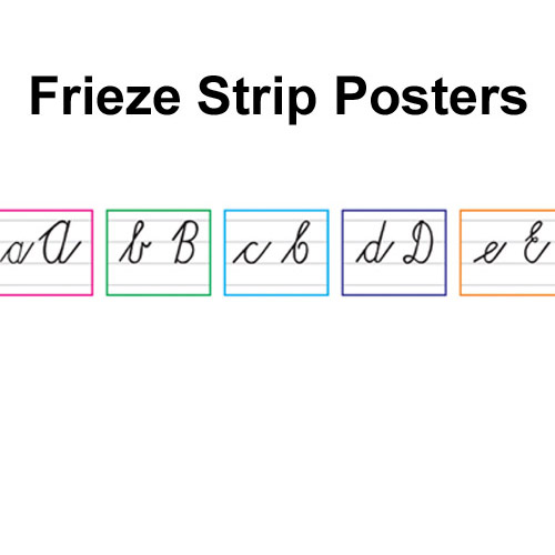 Frieze Strip Posters