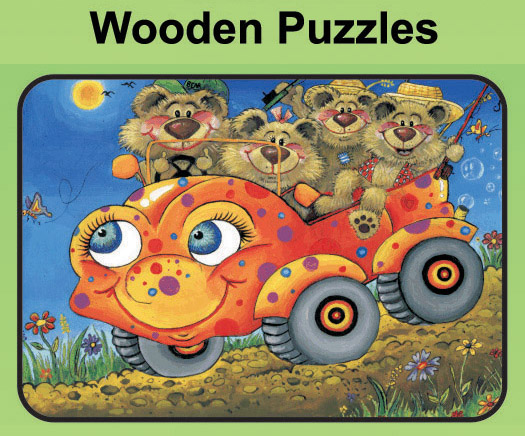 Wooden Puzzles (2-piece to 96-piece)