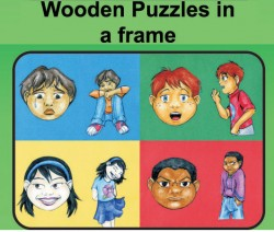 Wooden Puzzles in a Frame (15- to 48-piece)
