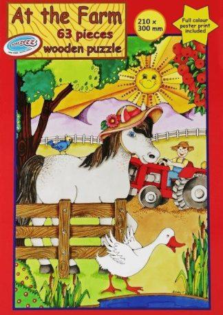 63 piece puzzle farm