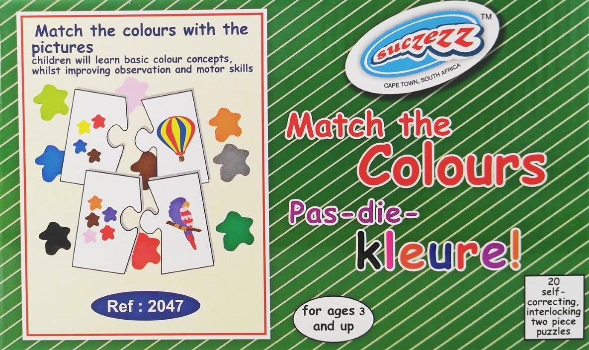 match colours pas kleure