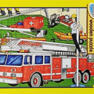 48 pc fire station puzzle