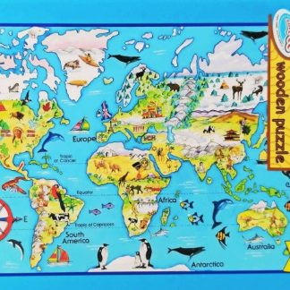 our world 63 pc puzzle