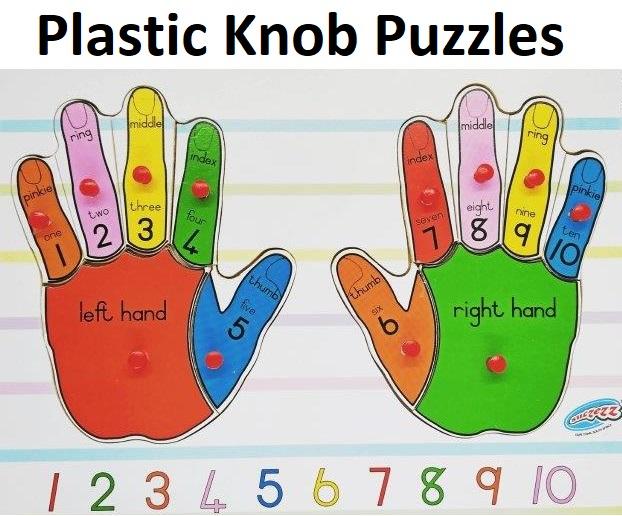 Plastic Knob Puzzles