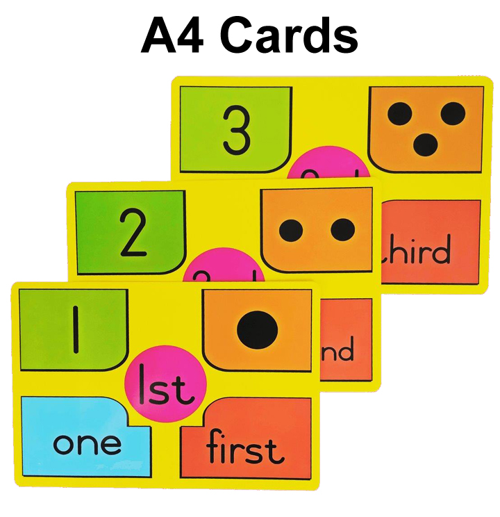 A4 Cards - English and Afrikaans