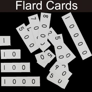Maths Flard Cards (number builders)