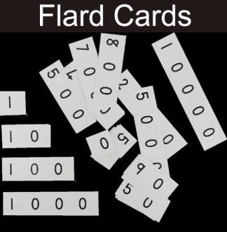 Maths Flard Cards (number builders)