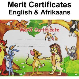 Certificates - English & Afrikaans